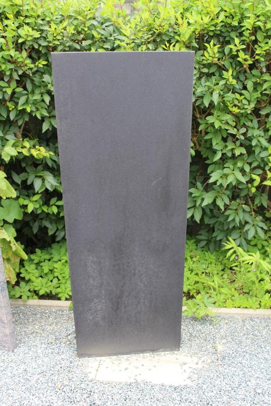 Nr. 140, 50 x 125 x 15 cm, Schwedisch Schwarz Granit