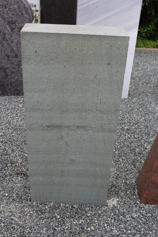 Nr. 183, 40 x 90 x 5cm, grüner Quarzit